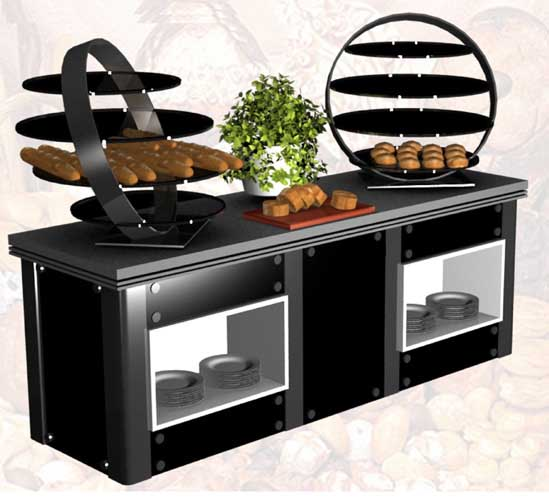 Buffet Counters Colombo, Receptions and Trolleys, Display Counters