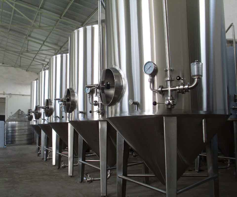 stainless steel industrial equipment